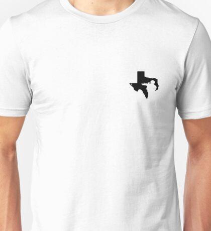 Texas Gun Lover (Black) Unisex T-Shirt