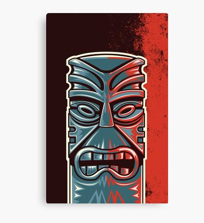 The Tower of Tiki Canvas Print