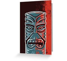 The Tower of Tiki Greeting Card
