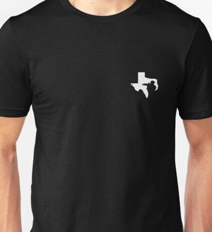 Texas Gun Lover (White) Unisex T-Shirt