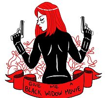 Black Widow Movie by ebozone