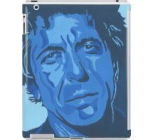 Tribute to Leonard Cohen iPad Case/Skin