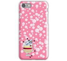 Trifle Shark with Bubbles in #fb86a5 iPhone Case/Skin
