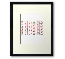 MisterWives Framed Print
