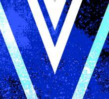 Galaxy Villanova University Sticker