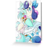 Lyra/Bon-Bon as Panty&Stocking Greeting Card