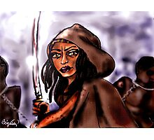 """Michonne [and """"friends""""] Photographic Print"""