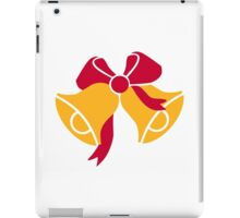 Bells with bow iPad Case/Skin