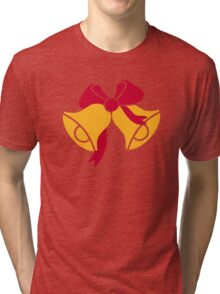 Bells with bow Tri-blend T-Shirt