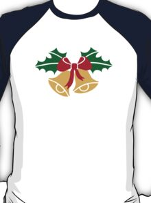 Christmas bells holly T-Shirt