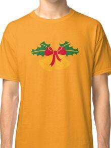 Christmas bells holly Classic T-Shirt