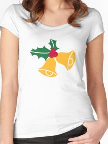 Bells holly Women's Fitted Scoop T-Shirt
