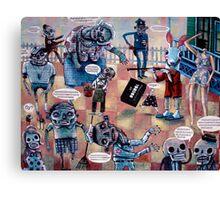 Voodoo Boo Boo Canvas Print