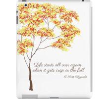 F. Scott Fitzgerald iPad Case/Skin