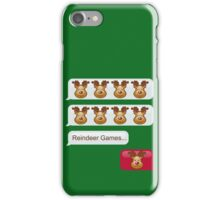 Reindeer Games iPhone Case/Skin