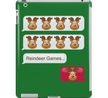 Reindeer Games iPad Case/Skin