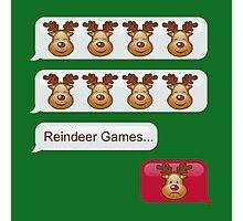 Reindeer Games Photographic Print