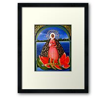 Our Lady of Regla Framed Print