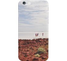 Tourists on Lake Gairdner iPhone Case/Skin