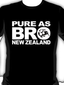 Pure as BRO New Zealand Kiwi T-Shirt