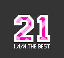 I AM THE BEST by zyguarde