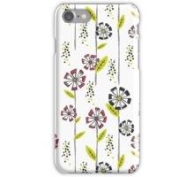 Tall Flowers iPhone Case/Skin
