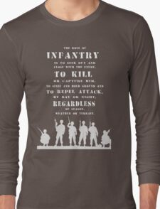 Role of Infantry Long Sleeve T-Shirt