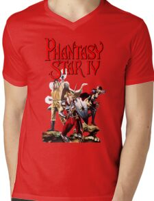 Phantasy Star 4 Mens V-Neck T-Shirt