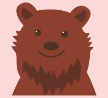 Happy grizzly bear Kids Tee