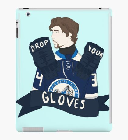 Drop Your Gloves iPad Case/Skin