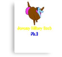 jeremy hillary boob Canvas Print