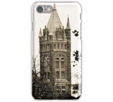 Gothic Cathedral Tower iPhone Case/Skin