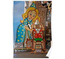 Pinocchio Impersonation Poster