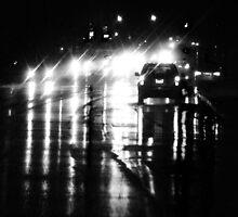Rainy Shiny Night by Gilda Axelrod