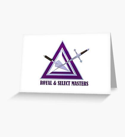 Royal & Select Masters Greeting Card