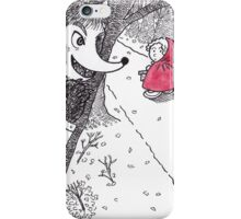 The Red Ridding Hood iPhone Case/Skin