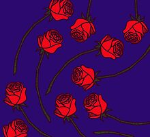 Rose - Who/Red by tosojourn