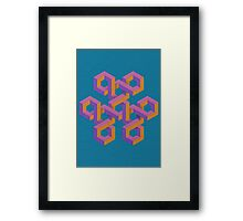 Triple Knot Framed Print