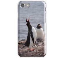 Penguin calling iPhone Case/Skin