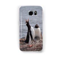 Penguin calling Samsung Galaxy Case/Skin