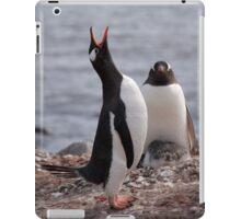 Penguin calling iPad Case/Skin
