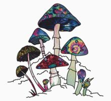 Garden of Shroomz by Daniel Watts