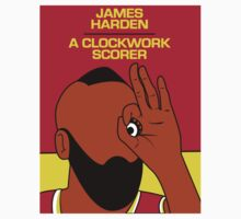James Harden (A Clockwork Scorer) Kids Clothes