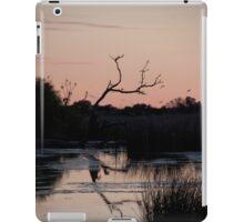 Outback waterhole at sunrise iPad Case/Skin