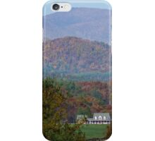 Blue Ridge Moutains iPhone Case/Skin