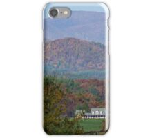 Blue Ridge Moutains iPhone Case/Skin