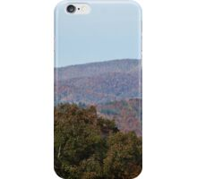 Autumn in the Blue Ridge Moutains iPhone Case/Skin