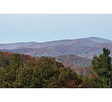 Autumn in the Blue Ridge Moutains Photographic Print