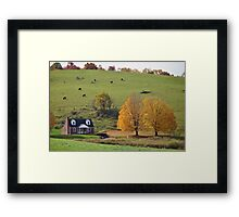 Autumn in the Blue Ridge Mountains Framed Print