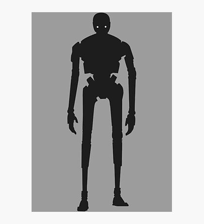 Star Wars - K-2SO Design Photographic Print